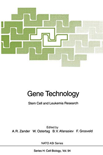 Gene Technology: Stem Cell and Leukemia Research (Nato ASI Subseries H:, 94, Band 94)