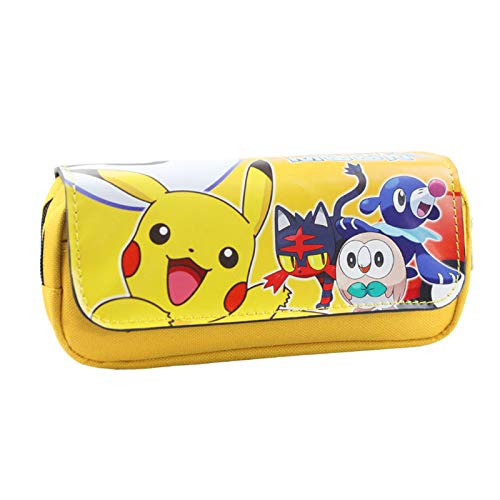Pokemon Kinder Lieblings Fall Stift Brieftasche Frau Comestic Taschen Handtasche Brieftasche Long Pokemon Make Up Fall