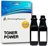 Schwarz Premium Tonerpulver zum Nachfüllen kompatibel für Samsung Drucker - 120g (Pack 2)