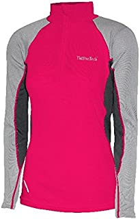 ThermaTech Womens Ultra Baselayer Long Sleeve 1/4 Zip