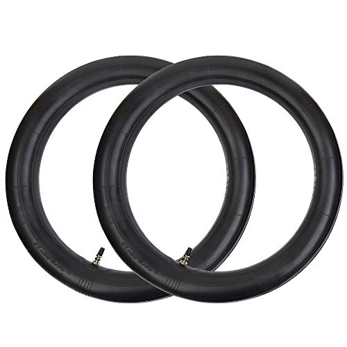 RUHUO 2 Pack of 3.25/3.50-16 90/100-16 Inner Tube with Straight Stem TR-4 replacement for Motorcycles Dirt Pit Bike TAOTAO SSR