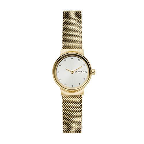 Skagen Damen Analog Quarz Uhr mit Edelstahl Armband SKW2717