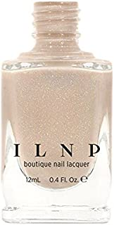 ILNP Elle - Almond Nude Holographic Sheer Jelly Nail Polish
