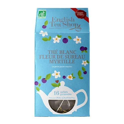 Organic White Tea Blueberry & Elderflower - 16 pyramid infusers