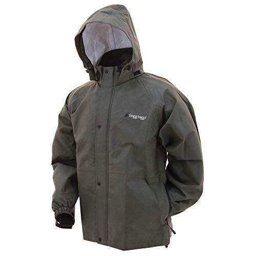 Frogg Toggs Bull Frogg Waterproof Rain Jacket, Stone, X-Large