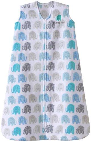 HALO Sleepsack, Micro-Fleece, Elephant Texture, Grey, Small