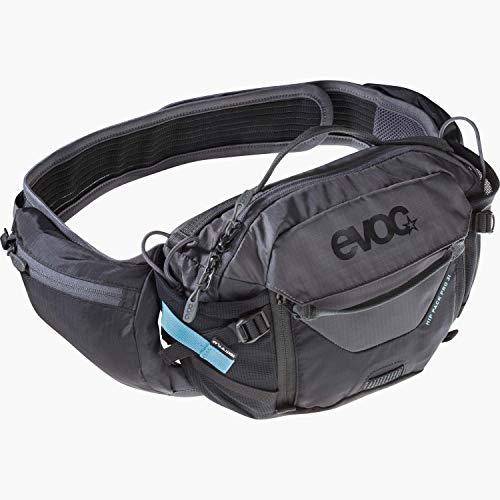 evoc Unisex Hip Pack Pro 3l H fttasche, Schwarz Carbon Grau,Einheitsgröße EU