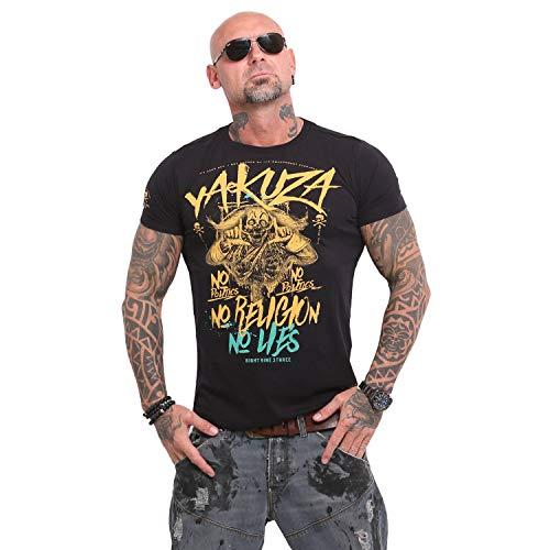Yakuza Herren No No No T-Shirt, Black, L