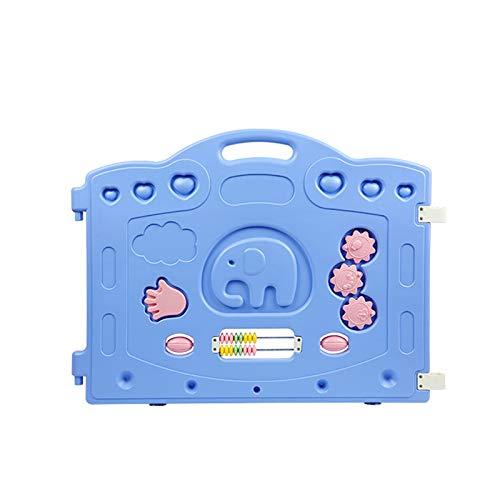 OMKMNOE Plastikbaby-Zaun Baby-Spiel-Zaun...