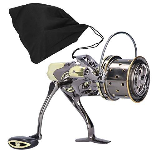 Carrete de rodamiento de mango izquierdo/derecho duradero, carrete, para caña de pescar(GX8000, 12)