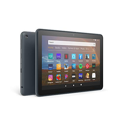 All-new Fire HD 8 Plus tablet, HD display, 64 GB, our best 8' tablet for portable entertainment, Slate