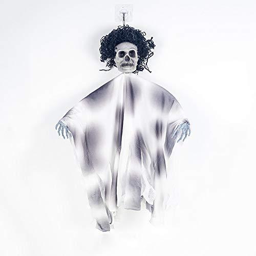 NIRANGWOZ Decoración De Esqueleto De Accesorios De Halloween De Terror Suministros De Fiesta De Halloween Regalos para Hombres Y Mujeres