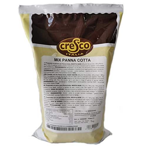 Preparado para Panna Cotta 1kg (mix panna cotta) (rendimiento 6 kilos)