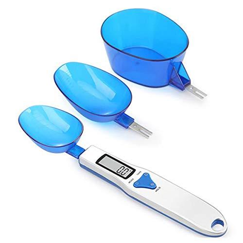N \ A Báscula de Cocina Digital, 500 g / 0,1 g Taza de medición electrónica Cuchara de báscula de Alimentos, con Pantalla LCD con función de Tara Pesaje para Hornear Pastel Harina de café