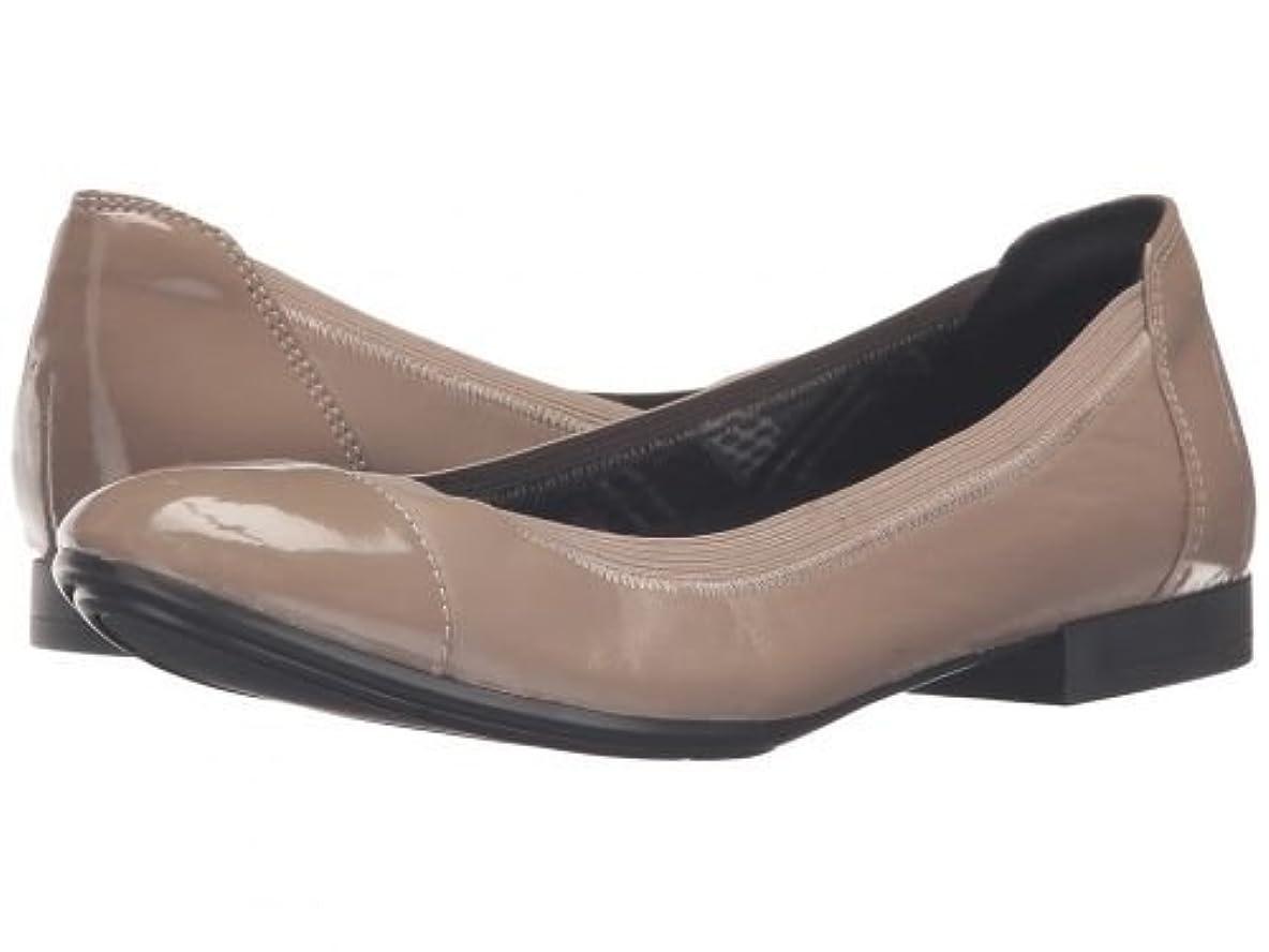 状況教育者役員Naturalizer(ナチュラライザー) レディース 女性用 シューズ 靴 フラット Therese - Dover Taupe Leather/Shiny [並行輸入品]