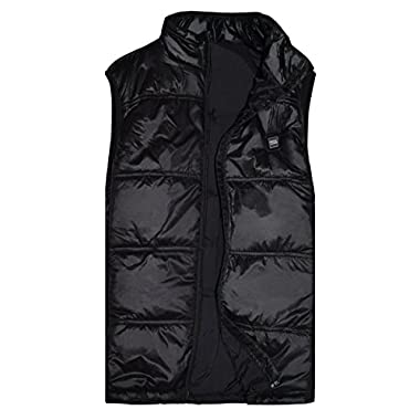 SunB01 Men's Insulated Heated polyester Vest with 7.4V 2.6AH Battery, Can be Used for 3.5-10 Hours