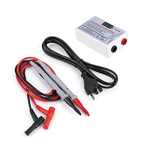 Akozon LED LCD TV Retroiluminación Tester, LED lámpara cuentas herramienta de reparación 0-220V(EU)