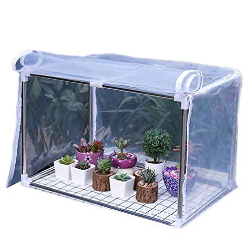 Invernaderos Plastico huerto terraza Mini Plantas de Flores - Pequeña casa Verde...