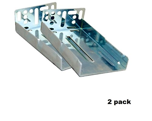 100 LB Capacity Full Extension Soft/Self Close Ball Bearing Side Mount Drawer Slides (Rear Mounting Brackets (20/10 Pairs)) by MPJ
