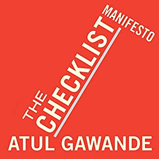 The Checklist Manifesto cover art