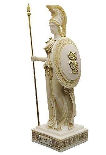 Athena Minerva Diosa Romana griega pintada a mano figura esc
