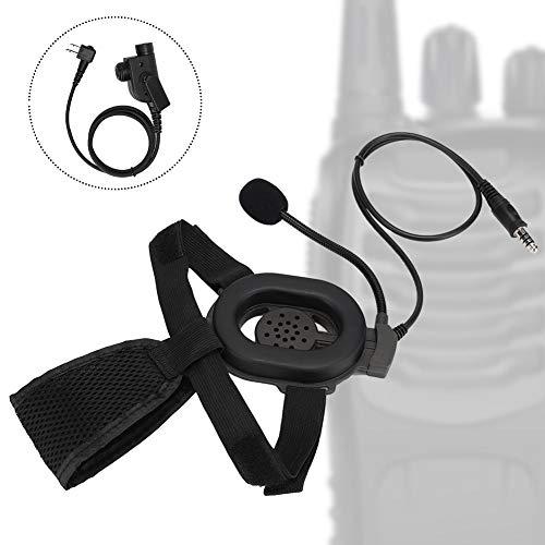 Topiky M Head Motorhelm PTT HD01 enkelzijdige koptelefoon voor Motorola/voor Bowman