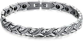 Europe Style Titanium Steel Rhinestone Buckle Bracelet For Women