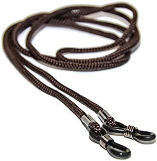 4 X Spec Eyeglass Cord for Glasses Eyeglasses Chain Lanyard Neck Cords, Brown
