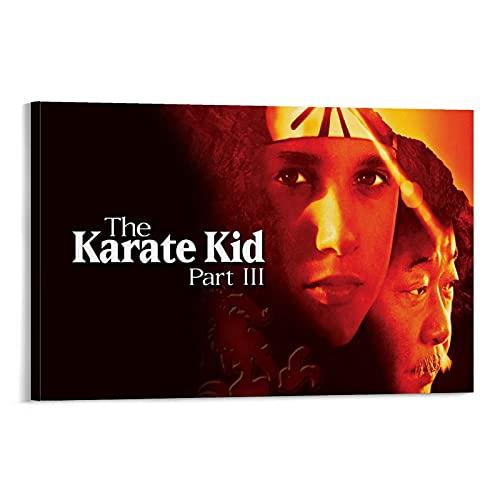 Filmposter The Karate Kid 1980er Jahre Werbeaktion Cover 1 Poster Dekoratives Gemälde Leinwand Wandkunst Wohnzimmer Poster Schlafzimmer Gemälde 30 x 45 cm