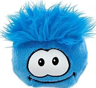 "SAVE $10.00 - NEW 6"" Jumbo Blue Puffle Plush from Disney's Club Penguin - VALUE DEAL = Just the Puffle w/o Coin - YOU SAVE..."