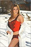 Bucraft Lucy Pinder Sensual at The Snow Tableau Motif Celebrity 8 x 10 cm