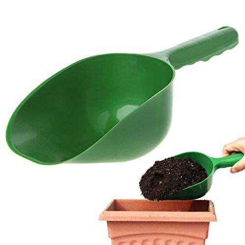 Moverstar Outils à main, pelle de jardin multifonction en plastique, truelle et cuillères