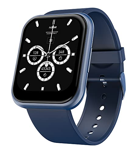 Noise ColorFit Ultra Bezel-Less Smart Watch with 1.75″ HD TruView Display, 60 Sports Modes, SpO2, Heart Rate, Stress, REM & Sleep Monitor, Stock Market Info (Space Blue)