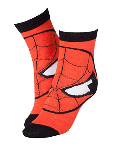Marvel - Spiderman Red Head - Sokken - Maat 43/46