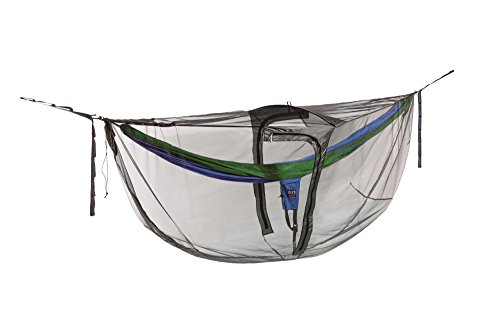 ENO, Eagles Nest Outfitters Guardian DX Bug Net for Hammocks, Charcoal