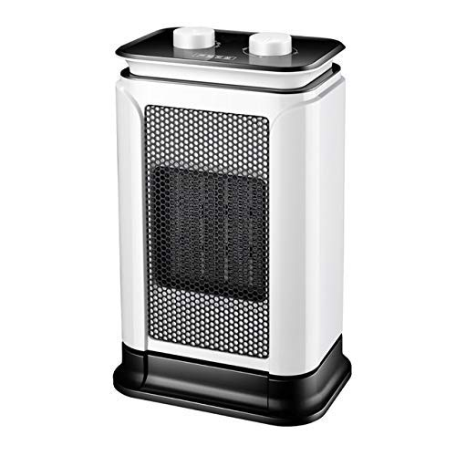 CHUTD Fan Heater,Portable Desk Heater PTC Ceramic Heating with Adjustable Thermostat and Overheat Protection Mute Electric Heater
