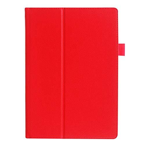 Asus Memo Pad FHD 10 Hülle aus PU-Leder Ständerhülle für Asus Memo Pad ME301T ME302 ME302C ME302KL 10.1 Tablet-rot