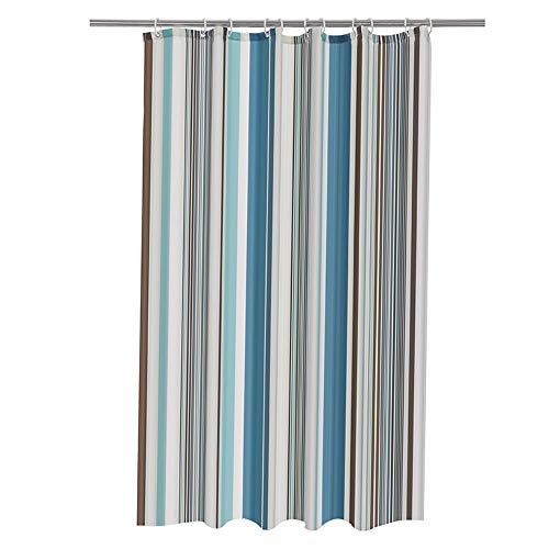 CXL Classic Duschvorhang aus Polyester, Badezimmerprodukte, Dicker wasserdichter & schimmelresistenter Trennvorhang für sanitäre Einrichtungen
