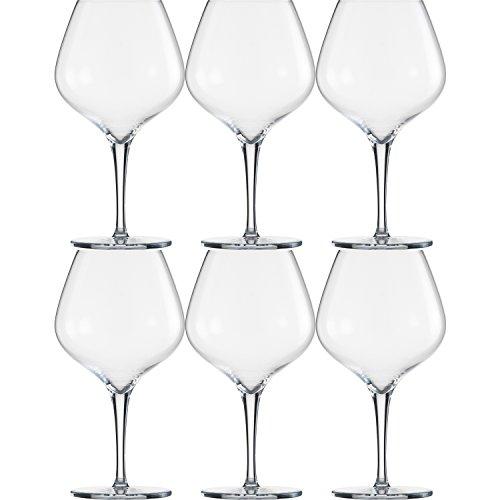 Schott Zwiesel 141872 Fiesta Bourgogne - Copa de vino (0,616 L, 6 unidades)