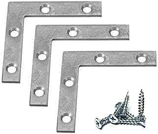 6 in zinc plated corner brace
