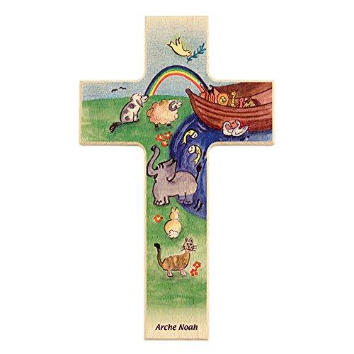 Fritz Cox® Kinder-Holz-Kreuz: Arche Noah 15 cm