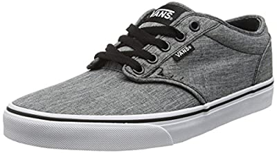 VANS Men's Atwood Skate Shoes, Durable and Comfortable Low-Top Lace-Up Style with Padded Tongue and Collar for Extra Comfort