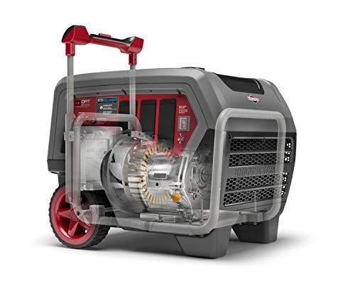 Briggs & Stratton Q6500 Quiet Power Series Inverter Generator | CO Guard, 6500 starting watts, RV...