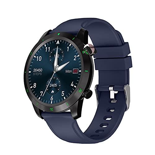QNMM G30 Smartwatch IP68 Resistente Al Agua 1,28 Monitor de Presión Arterial de Frecuencia Cardíaca Multifuncional Fitness Correr Deportes Relojes Inteligentes para Hombres Y Mujeres