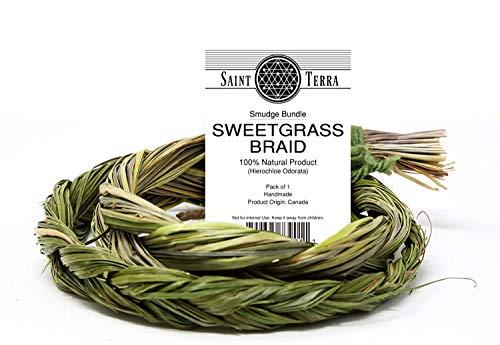 Saint Terra - Sweetgrass Braid Smudge