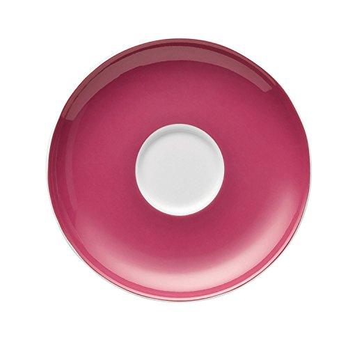 Thomas Sunny Day Soucoupe pour Tasse à Espresso 8 cl, Porcelaine, Raspberry Red / Rouge Framboise, Passe au Lave-Vaisselle, 12 cm, 14721