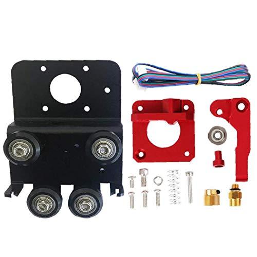 ZYCX123 3D-Drucker Direkt Extruder Upgrade-Drive Kit Teile Platte Aluminiumlegierung für Ender 3 Pro CR 10 CR 10S S4 S5 Ferien GFT