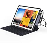 "Oxlaw 6-in-1 USB C Hub for iPad Pro 2020 2019 2018 11""/ 12.9', Type C Port with 60W Power Delivery, 4K HDMI Port, USB 3.0 Port(5Gb/s), SD and MicroSD Card Reader, 3.5mm Headphone Jack for iPad Pro"