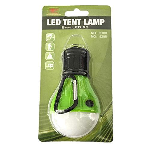 Acampar camping luces luces y linternas de luz recargable portátil Bombilla práctico llevó la luz Modo 3 Gancho for carpas lámpara al aire libre suave luz de emergencia de ahorro de energía for la caz