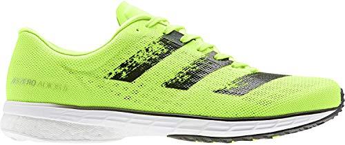 adidas Adizero Adios 5 m, Zapatillas de Running Hombre, Verde Negro, 41 1/3 EU
